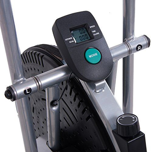 Great Body Rider Exercise Upright Fan Bike With Updated Softer