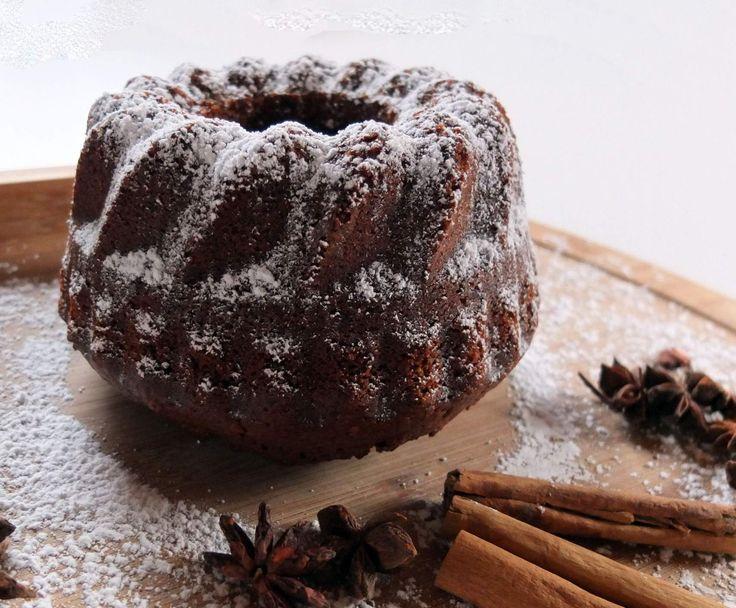 Rezept Schokoladen-Punsch-Kuchen - Auch für Kuchen im Glas geeignet von Schirmle - Rezept der Kategorie Backen süß