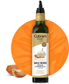 Cobram Estate Garlic Infused Extra Virgin Olive Oil #lowFODMAP #wheatfree