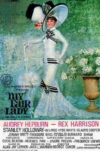 My Fair Lady Movie Poster Audrey Hepburn