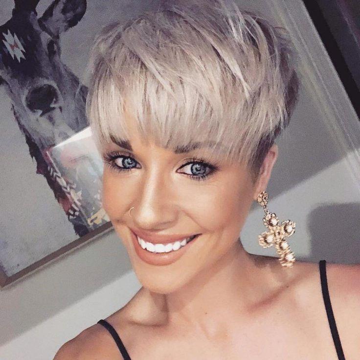 Corinne Gerrard Short Hairstyles – 6 #pixiehaircut…
