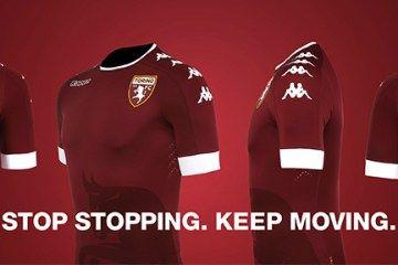 Torino FC 2016/17 Kappa Home, Away and Third Kits