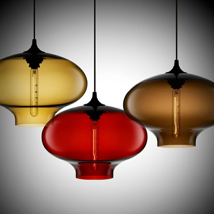 Colored glass pendant lights where my heart is pinterest - Colored glass pendant lights ...