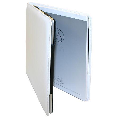 Van der Spek iPad 2 / 3 / 4 schrijfmap (Wit)