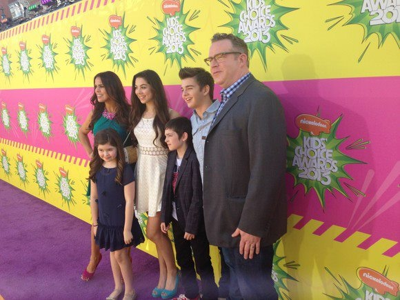 "Addison Riecke is making headlines this week on the Orange Carpet for the Nickelodeon Kids Choice Awards. This is Addison's first big debut in Hollywood. The young rising star was vibrantly signing autographs  taking snapshots with her Nickelodeon TV cast family for her new starring role on the ""Thundermans""."