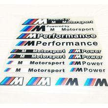 Car Styling Autocollant Moto M Puissance Performance Sport Automobile Autocollants Réfléchissants Sticker Pour Bmw opel astra h Skoda De Voiture Accessoires(China (Mainland))