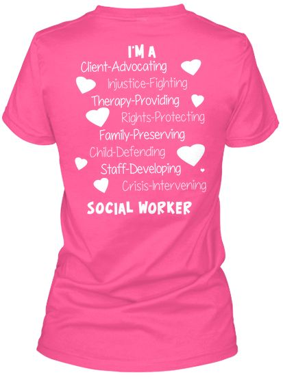Proud Social Worker | Teespring
