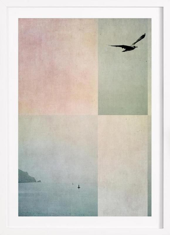 Fly Away as Framed Poster by Ingrid Beddoes | JUNIQE