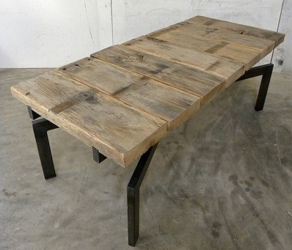 Gooseneck Coffee Table by Petrified Design