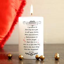 A Good Gift For Fiance Male My Promise Candle Giftsforfiancemale Giftforfiance Fiancegifts