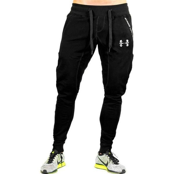 Harem Pants Men Plain Sweatpants Casual Joggers Sweats Hip