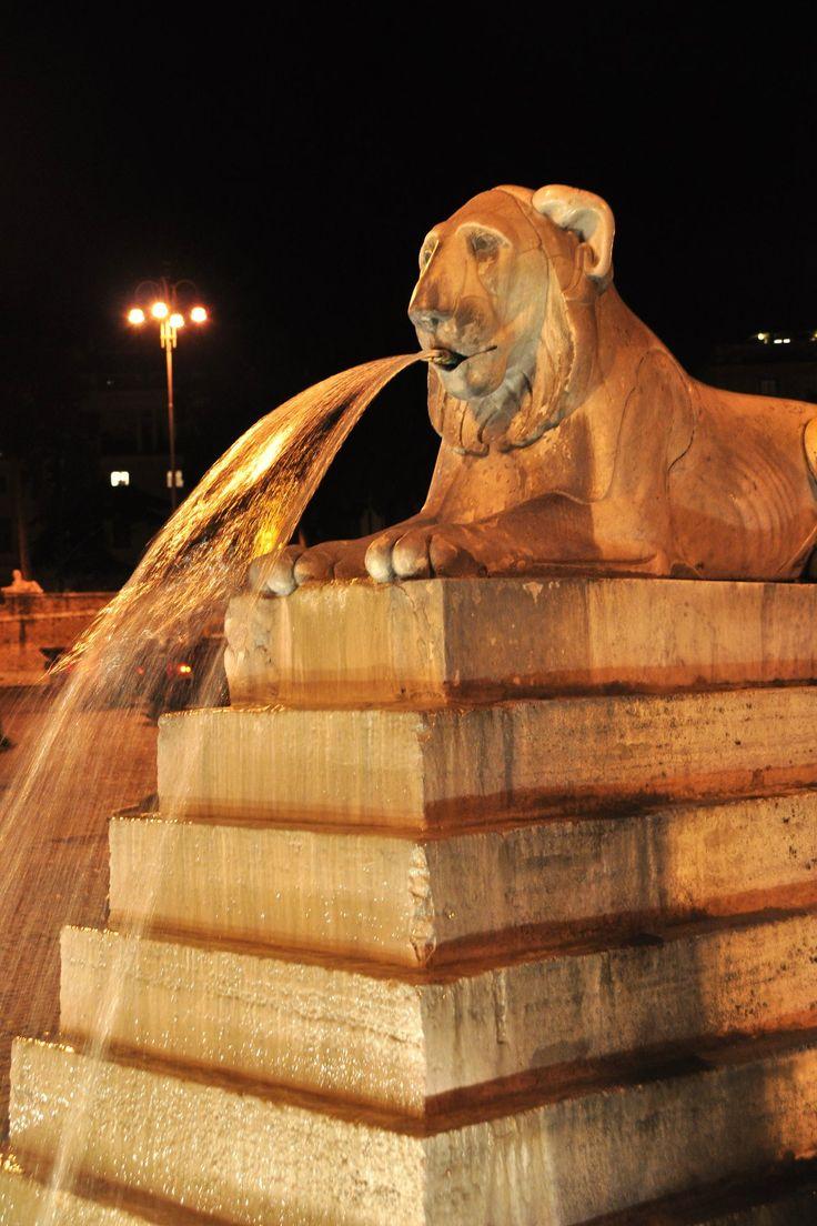Fontaine de la Piazza del Popolo