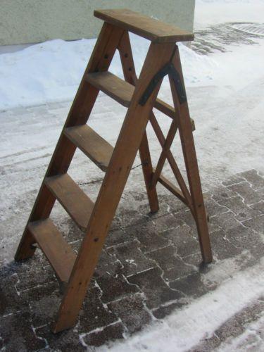 29 best holzleiter images on Pinterest Stairs, Old ladder and - blumenstander selber bauen alte holzleiter