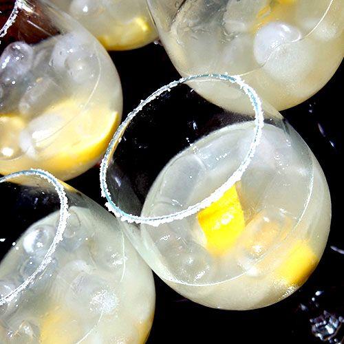 Lazy Margarita – Cocktails For Mums - 30ml tequila | 30ml Cointreau or triple sec | 3 lemon wedges | Salt | Ice