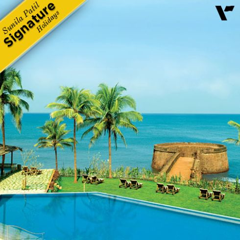 #SignatureHolidays: #Goa, known for it's sun and sand, transforms itself into a quaint and lush destination in the monsoons. Visit this 365 days on holiday destination and stay at the Vivanta by Taj - Fort Aguada which makes up a perfect setting for a memorable stay with history woven in it's walls. Choose to stay in the rooms,suites and villas adorned by the Goan- Portuguese architecture, Enjoy the food and #wine and rejuvenate at the Jiva #spa.