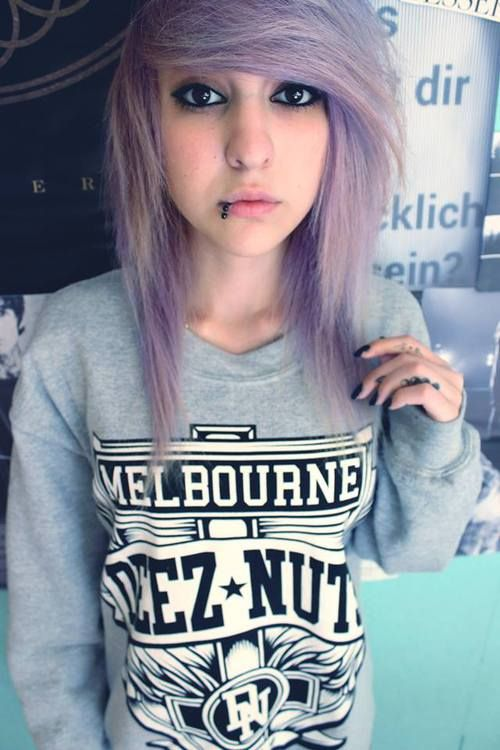 this is EXACTLY how i want my hair but in a different color