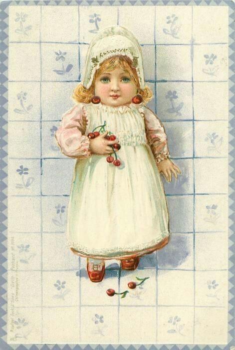 Старинные открытки марина