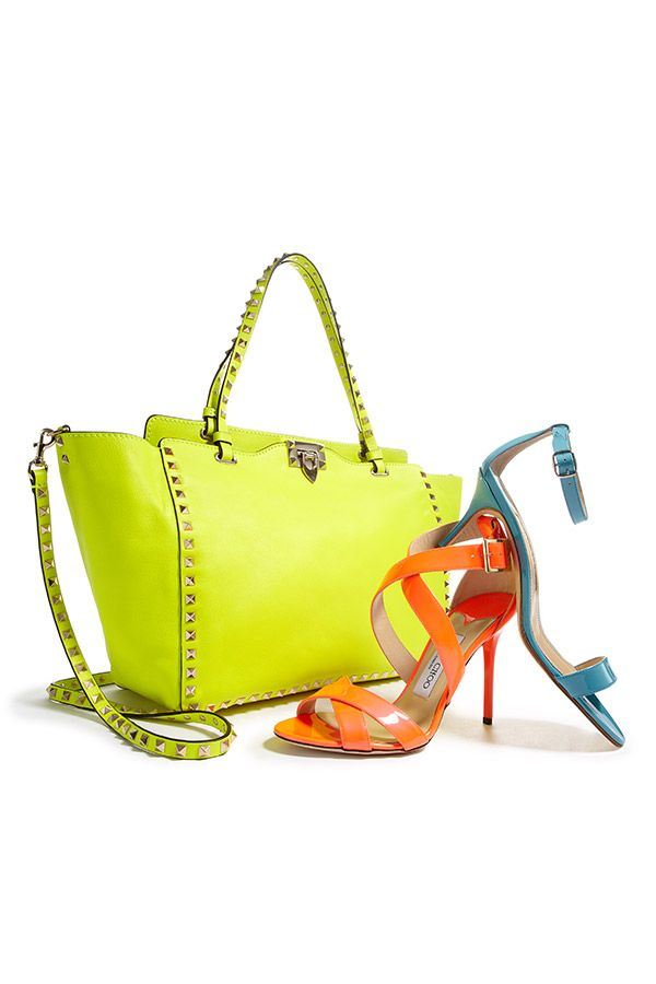 Colorful accessories top our Want List for spring!