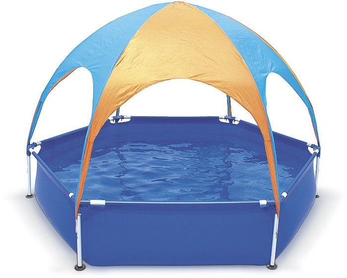 Splash in Shade Pool*^