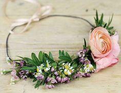 DIY Couronne de fleurs pour un festival ou un mariage  DIY Crown of flowers for a festival or wedding