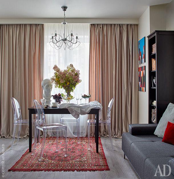 Небольшая квартира на Кутузовке от FB Interiors - Дизайн интерьеров   Идеи вашего дома   Lodgers