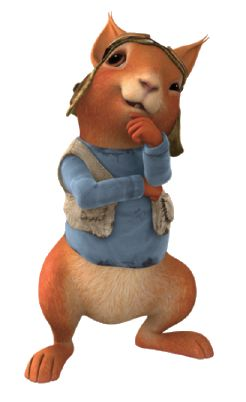 Squirrel Nutkin - peter-rabbit-nickelodeon Photo