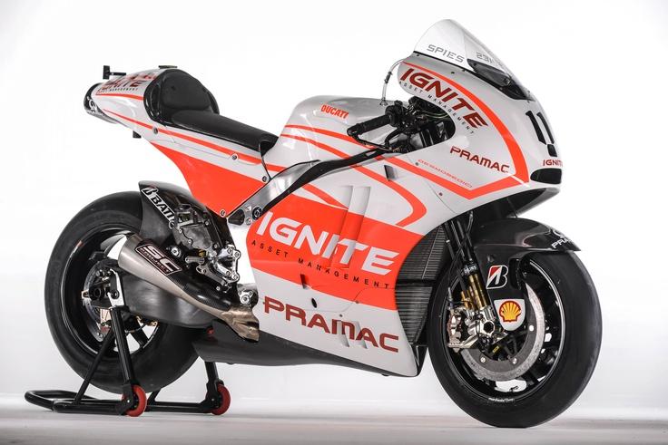 Ben Spies' Pramac Ducati Desmosedici GP13