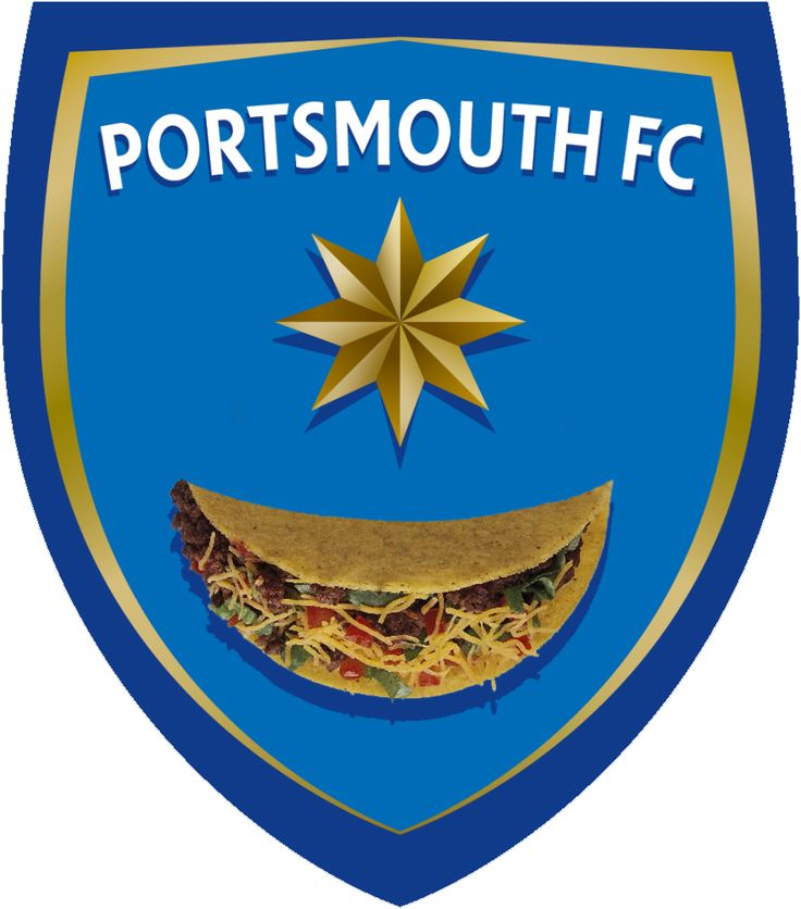 Portsmouth Football Taco. #football #soccer #taco #tacos #mexico #mexican #food #pfc #pompey #playuppompey #portsmouth