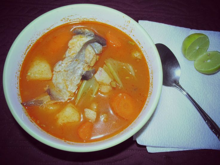Fish Soup (Caldo de Pescado) Recipe