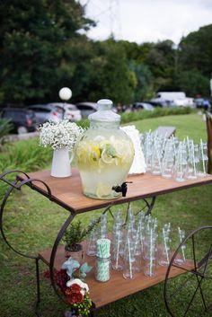 Recepção de casamento - bebidas