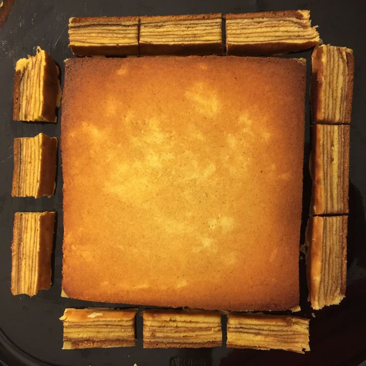 """My Homemade Baking """"Lapis Legit"""", a Dutch influence layers cake with cinnamon favor."""