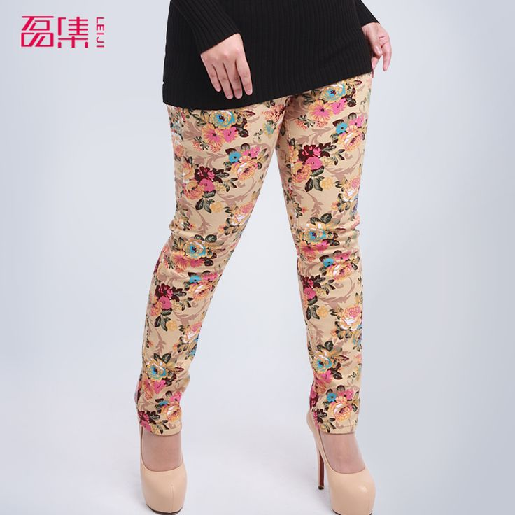 Cheap Pants & Capris on Sale at Bargain Price, Buy Quality Pants & Capris from China Pants & Capris Suppliers at Aliexpress.com:1,Item Type:Full Length 2,Clothes design details:thread 3,Thickness:Fleece 4,Pattern Type:Floral 5,Gender:Women