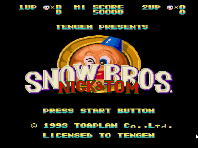 Snow Bros Playstation Game now on Windows XP FREE ~ TiNyH4CkEr