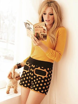 : Girls Crushes, Polka Dots, Glamour Magazine, Hairmakeup, Polkadot, Cute Outfits, Blake Living, Hair Makeup, Mustard Yellow