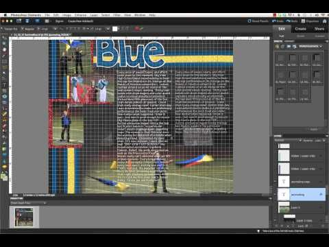 how to make 2 text columns in photoshop