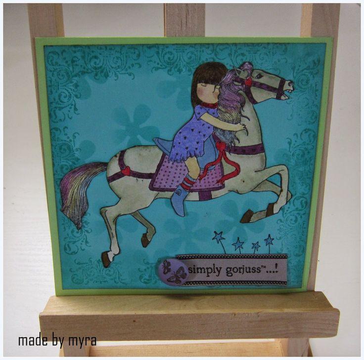 Creabest: Simply Gorjuss-Horse