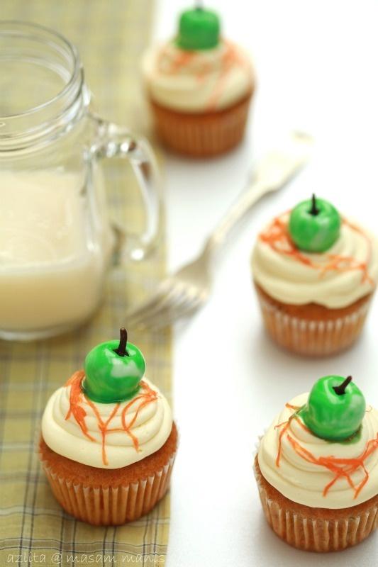 Carrot Apple Jade Cupcake// @Becca Fullen Jade Cupcakes, Cupcakes Rosa ...