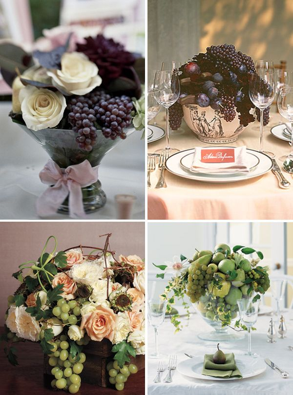 Cute idea for winery wedding...or even better, a Napa wedding!