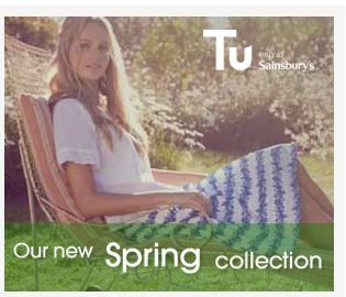 Sainsbury Clothing - brand campaign on Glamour.