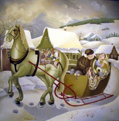 Canada ~ Rajka Kupesic ~ The White Horse