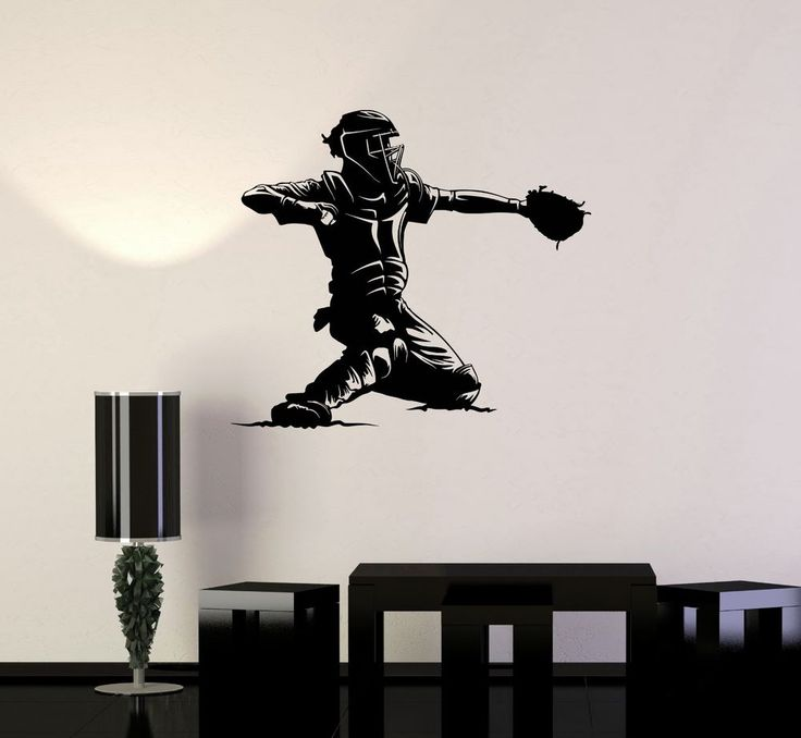 Best Images About Baseball Theme Bedroom Ideas On Pinterest - Vinyl vinyl wall decals baseball
