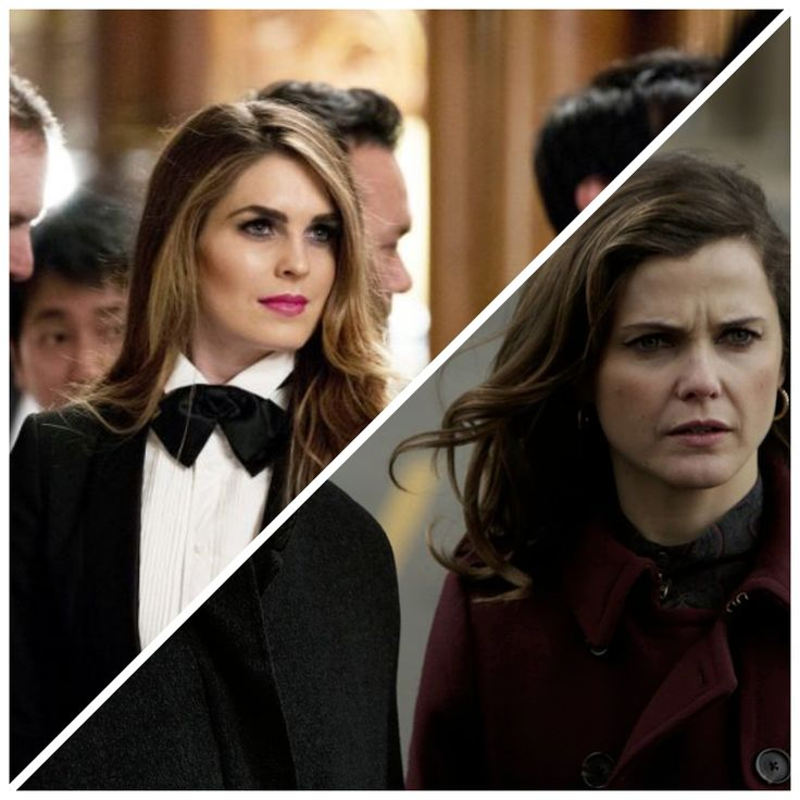 Hope Hicks = Elizabeth Jennings from the Americans?