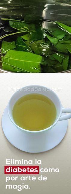 El té de esta hoja te ayuda a controlar la diabetes.