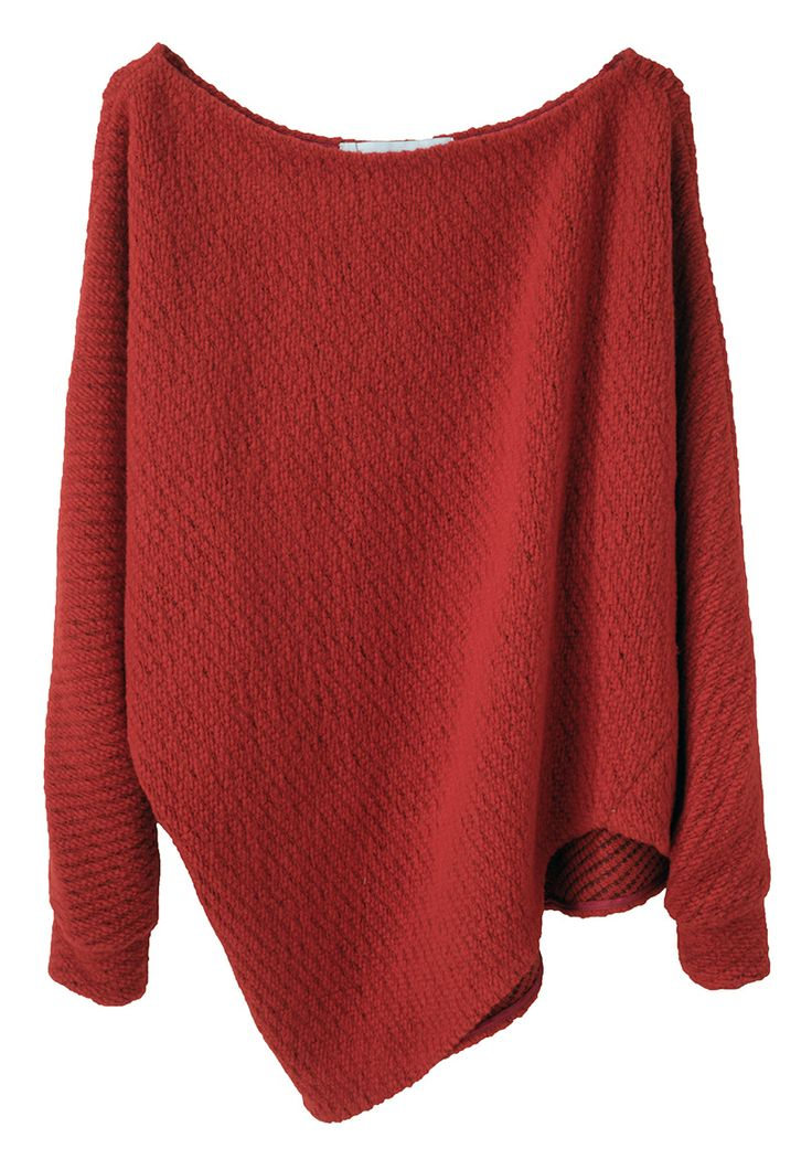 comfy asymmetrical sweater! perfect for fall or winter with a scarf!