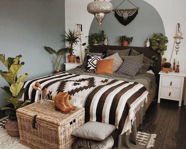 32 Die beste Wohnkultur im Boho-Stil