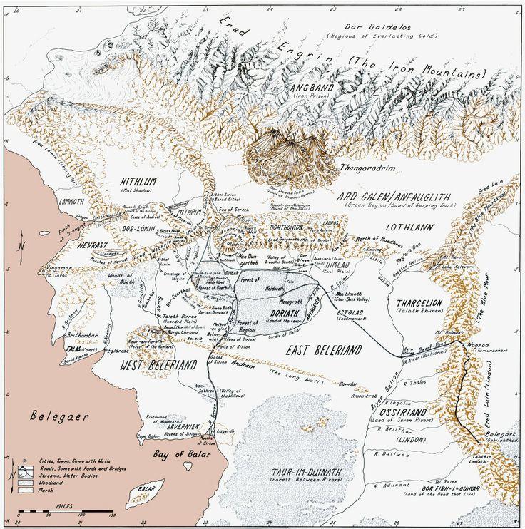 44 best histria alternativa geografia imaginria images on beleriand from the silmarillion tolkien sciox Gallery