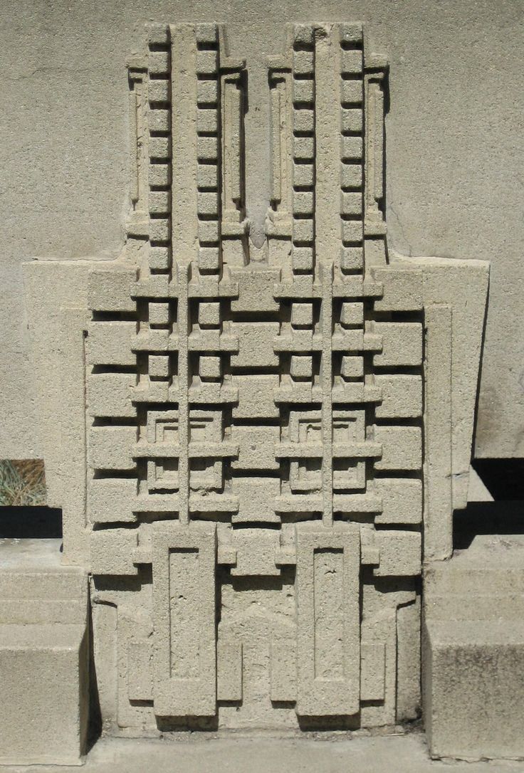 76 best ennis brown house images on pinterest brown house frank