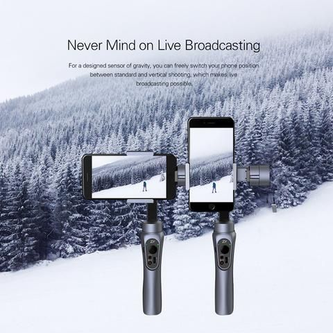 3-Axis Handheld Phone Gimbal Stabilizer