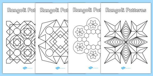 Rangoli Patterns Templates - rangoli, patterns, template