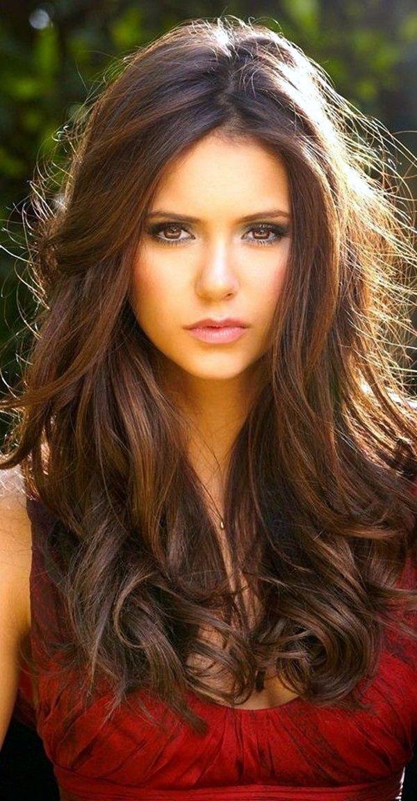 40 Popular Fall Hair Color Ideas You'll Love To Try In 2016 | Fall Hair Color Ideas | Hair Color Ideas | Fenzyme.com | Elena Gilbert